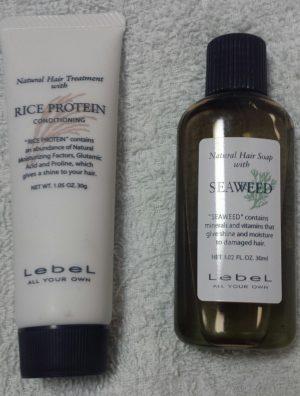 香りは別として髪に優しいルベル ナチュラルヘアソープ&トリートメント