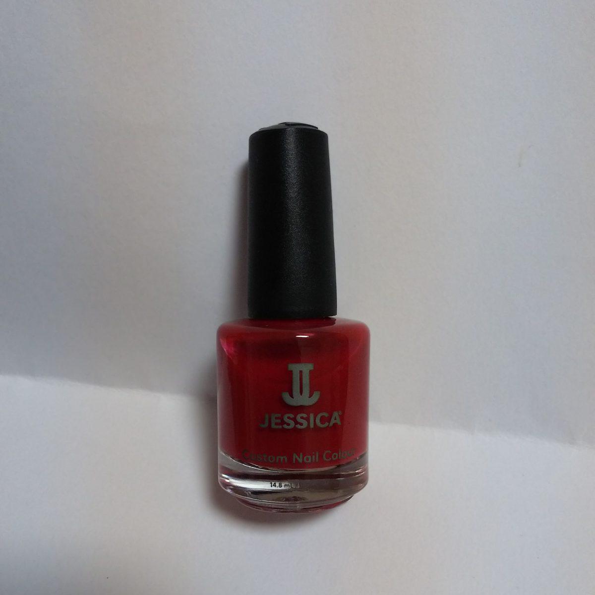 久々の赤ポリッシュ!JESSICA Custom Nail Colour