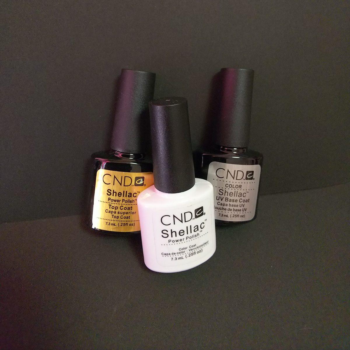爪への負担を考えつつ楽もしたい!CND Shllac power polish