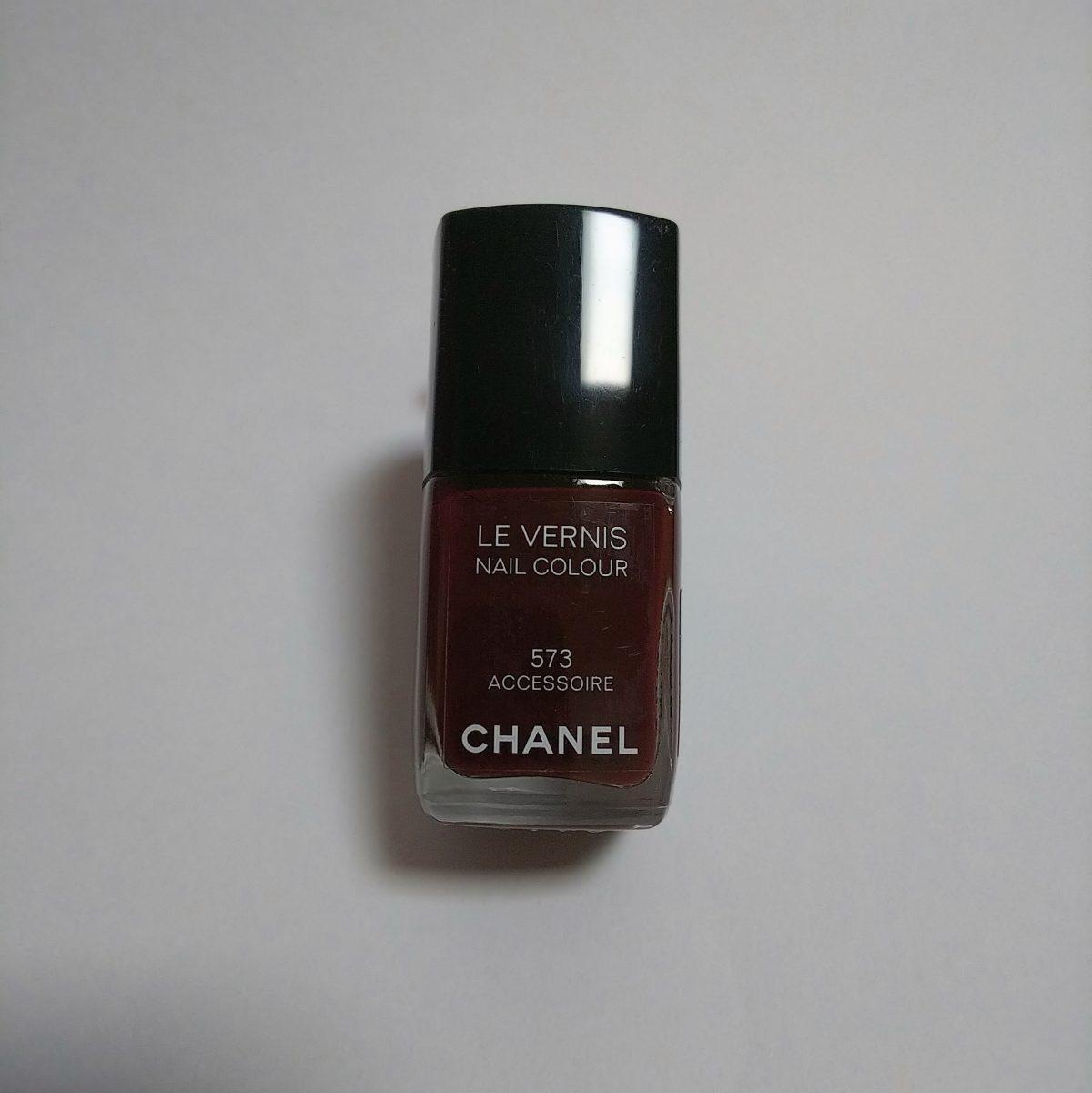 難しい!単色ポリッシュで秋ネイル -CHANEL LE VERNIS