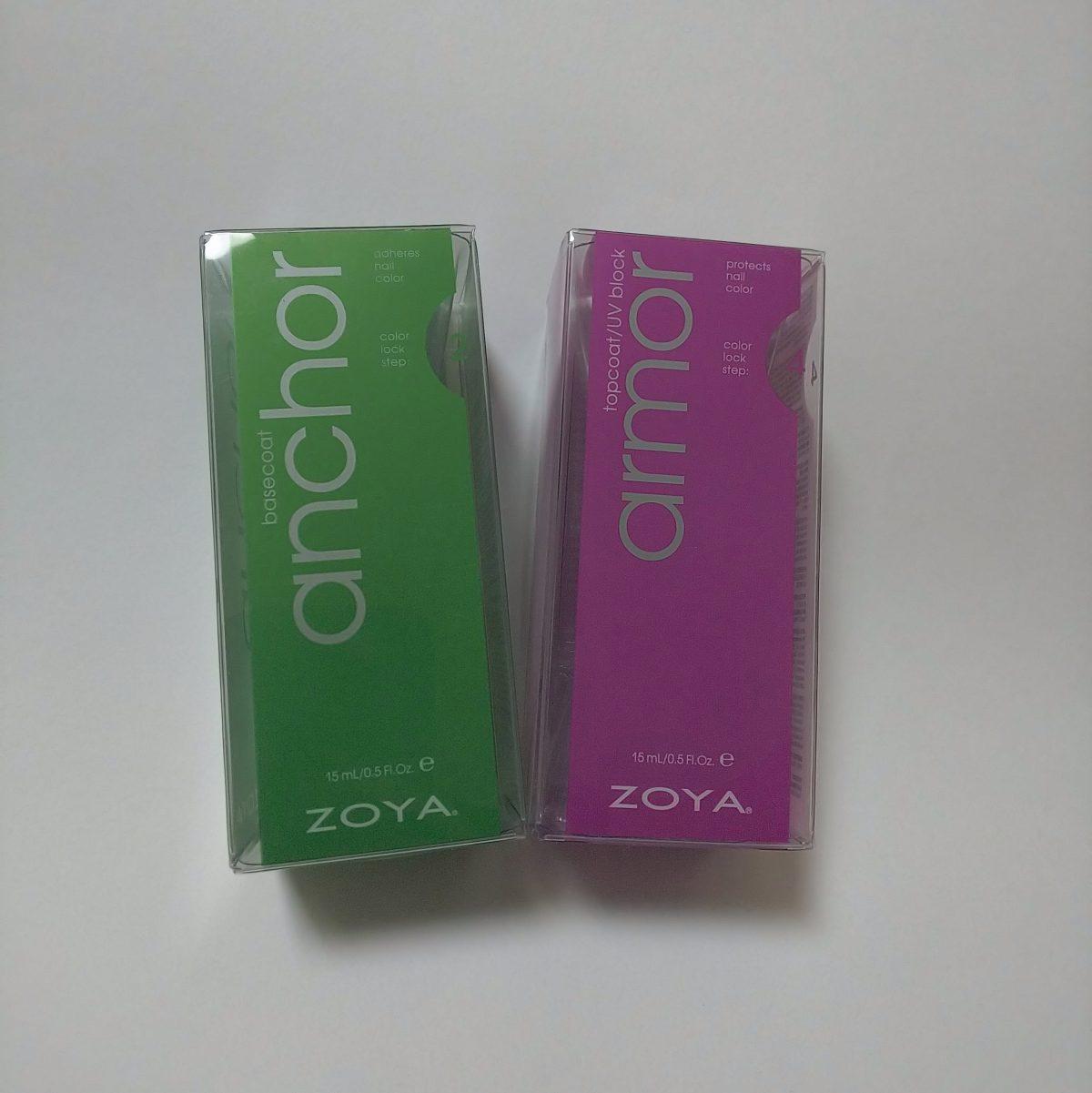 ZOYAのベースコートとトップコートを買ってみた!