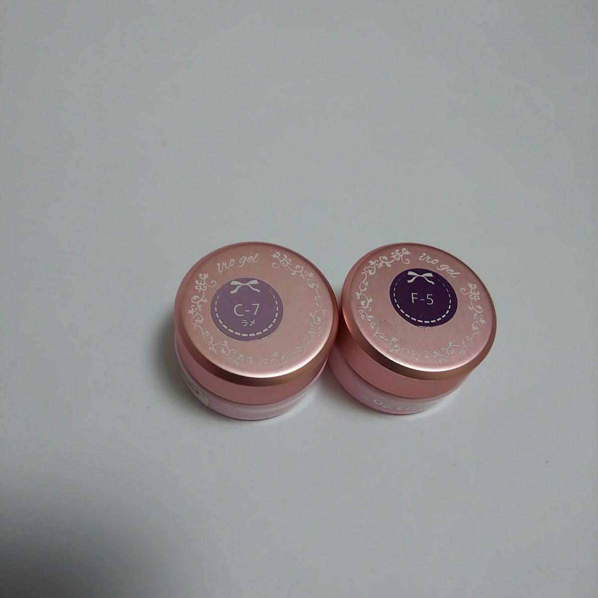 大人な紫陽花ネイル irogel