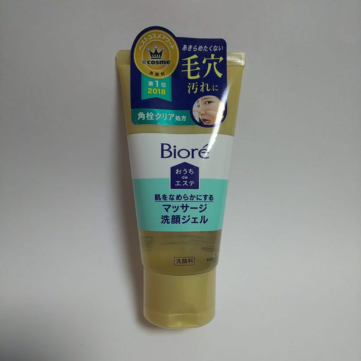 ユニークな洗顔 Bioreおうちdeエステ マッサージ洗顔ジェル